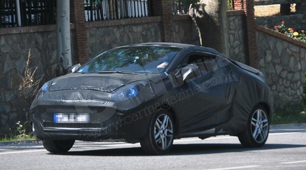 Renault выпустит двухместный кабриолет