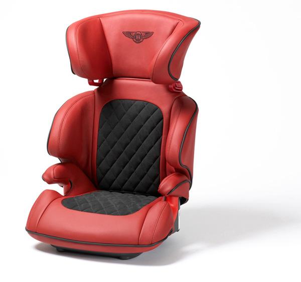 детское кресло в bentley