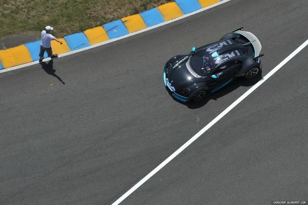 Citroen Survolt на трассе Ле-Мана. Фото: Carscoop