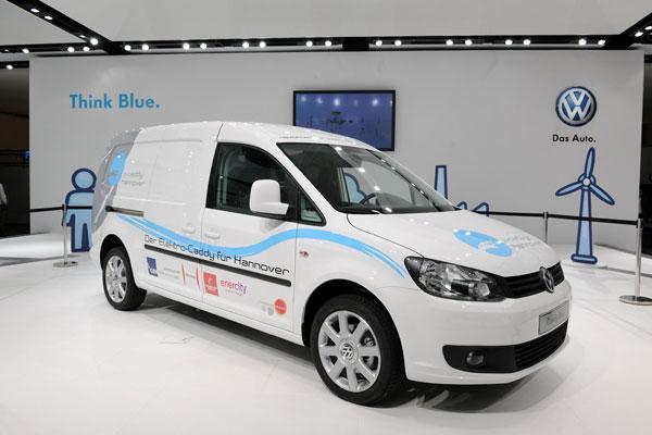 Volkswagen переведет перевозки на электричество