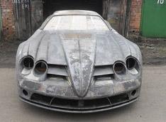 Mercedes сделанный в домашних условиях (9 фото) .