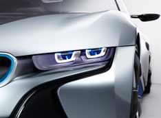 BMW меняет лампы на лазер