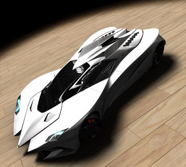 Студент сделал подарок на юбилей Lamborghini Фото: Topspeed.com