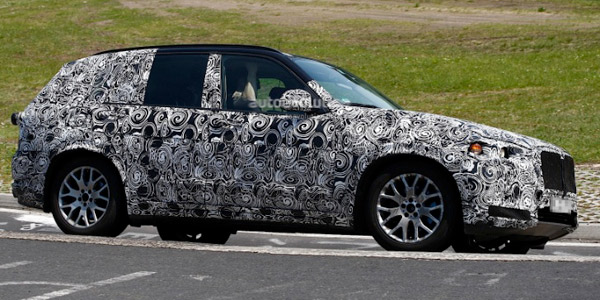 Баварцы прокатили новый SUV