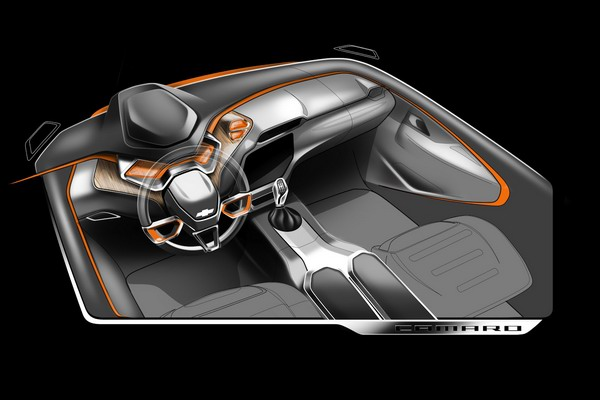 Дизайнер изобразил Chevrolet Camaro 2015 года