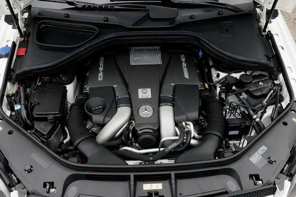 Mercedes-Benz GL63 AMG: предстартовый мандраж Фото: Inautonews