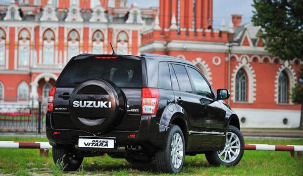 Suzuki обновила Grand Vitara