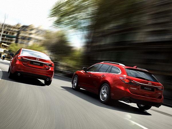 Mazda6-универсал дебютирует в Париже Фото: Autoevolution
