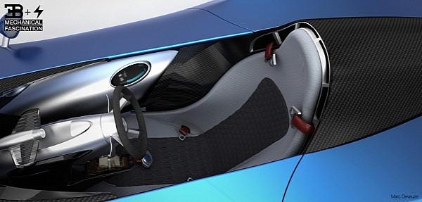 Одноместная мечта Bugatti TypeZero