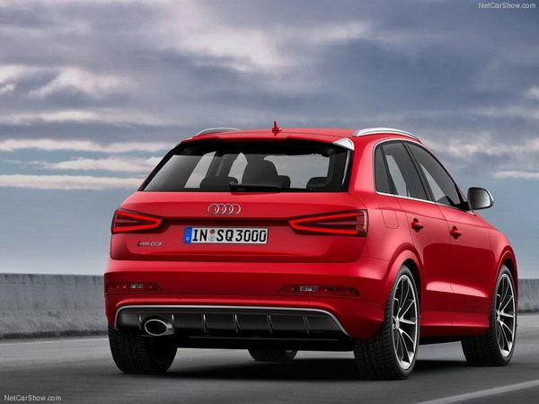 Audi рассекретила заряженную версию Q3