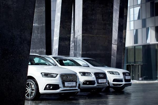 Audi выпустит 365 олимпийцев Q-линейки