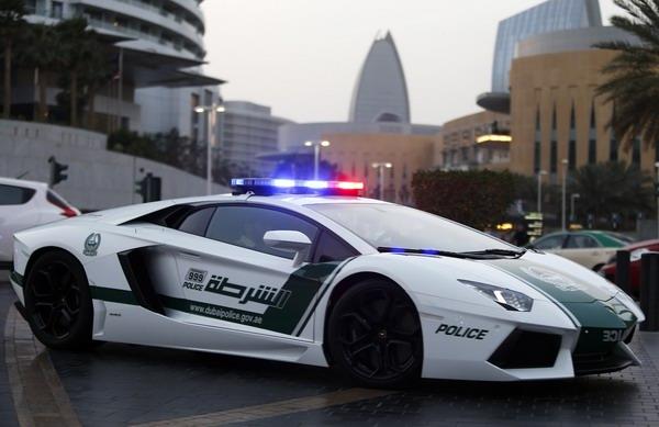 Суперкары дубайской полиции: начало