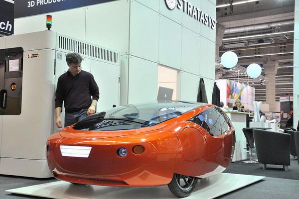 Автомобиль из 3D-принтера отправят в путешествие