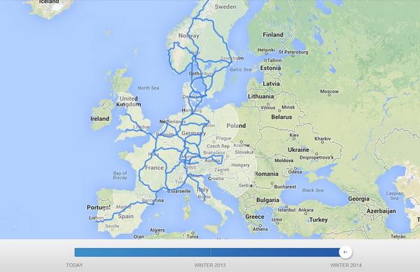Tesla привозит фирменные заправки в Европу