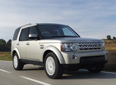 Land Rover Discovery 4 отличился