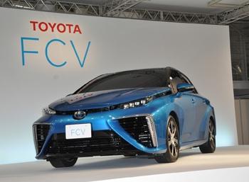 Компания Toyota представила дизайн своего водородного автомобиля