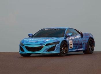 Кузов Acura NSX будет покрыт цирконием