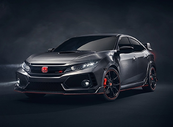 Honda показала в Париже прототип Civic Type R