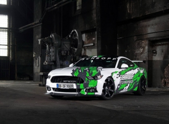 Schropp Tuning разозлили Ford Mustang