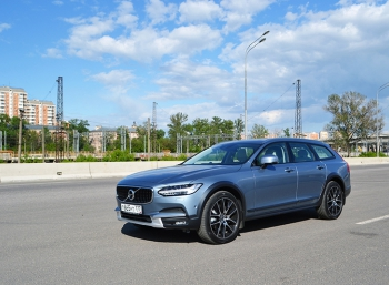 Volvo V90 Cross Country: фото с тест-драйва