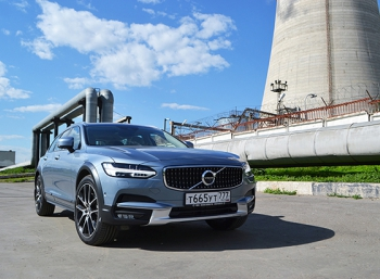 Volvo V90 Cross Country: он вам не сарай!