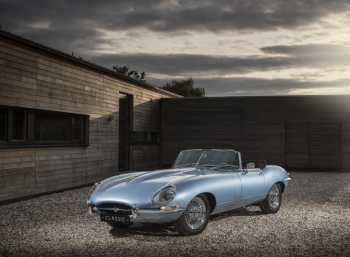 Классический Jaguar E-Type преобразовался в электрокар