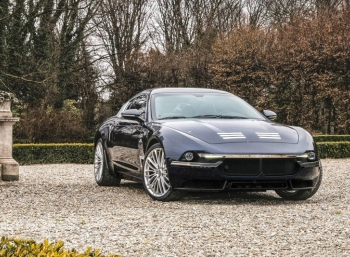 Carrozzeria Touring Superleggera одела Maserati GranTurismo в модный костюм