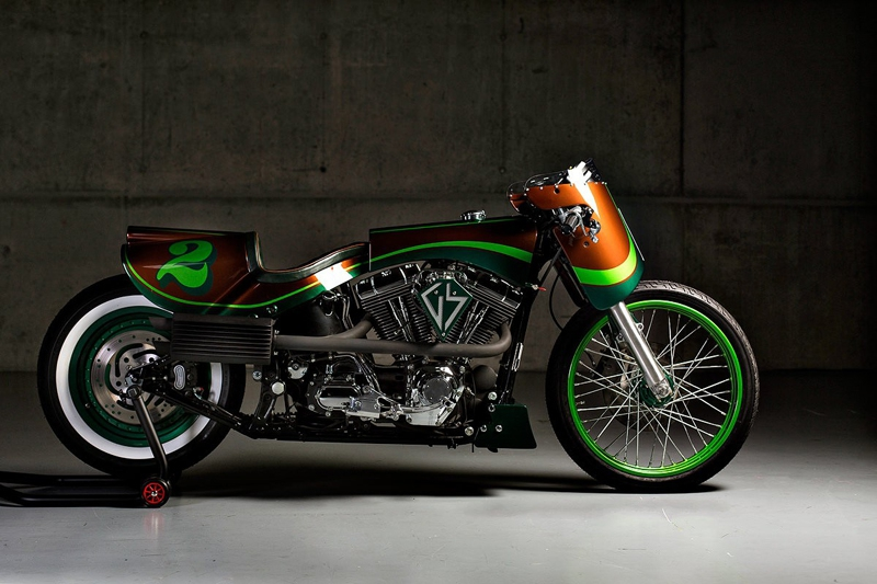 Сенсационный Harley-Davidson Fat Boy от GS Mashin