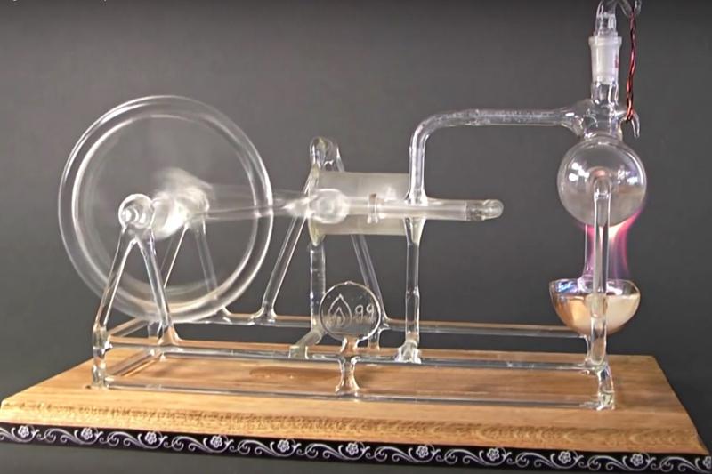 Паровой двигатель своими руками видео фото