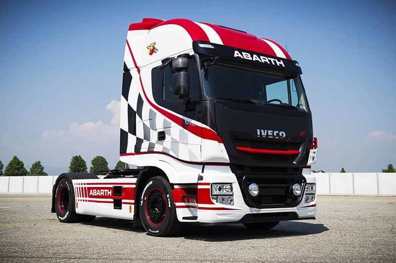 Abarth выпустит 124 особых «спортивных» грузового автомобиля