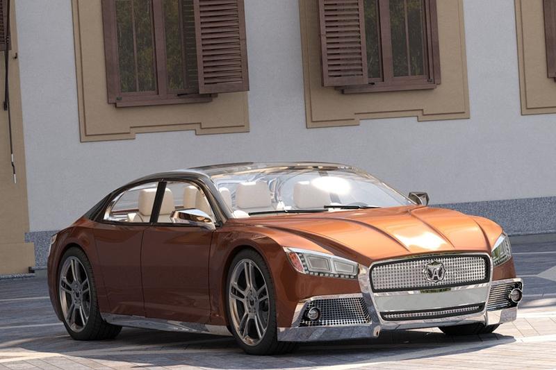 Представлен концепт-кар автомобиля «Волга-2020»