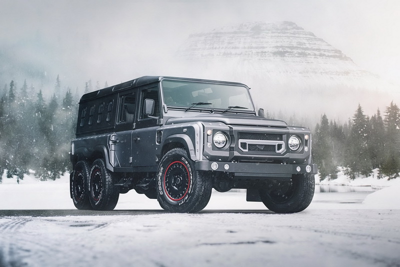 Flying Huntsman 6×6 Civilian Carrier идет по стопам Mercedes G63 6x6