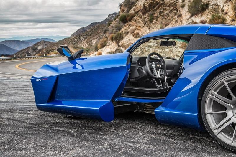 Спорткар Rezvani Beast Alpha дебютировал вЛос-Анджелесе