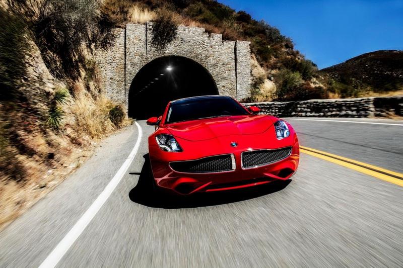 Супербыстрый электромобиль Karma Revero появились вреализации официально