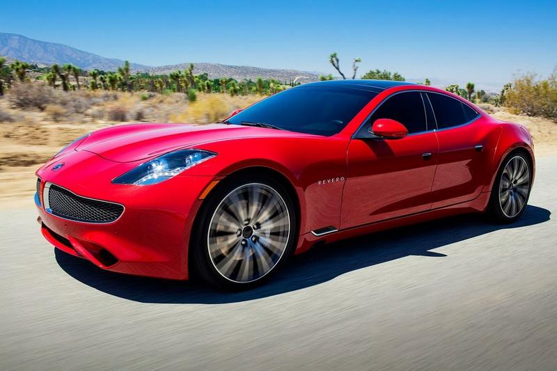 Супербыстрый электромобиль Karma Revero поступили в реализацию официально
