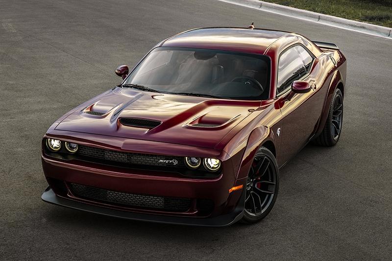 Dodge Challenger SRT Hellcat стал еще скорее