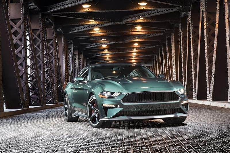 Ford представил новый Mustang Bullitt