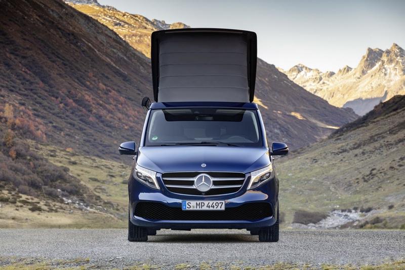 Mercedes обновил V-Class