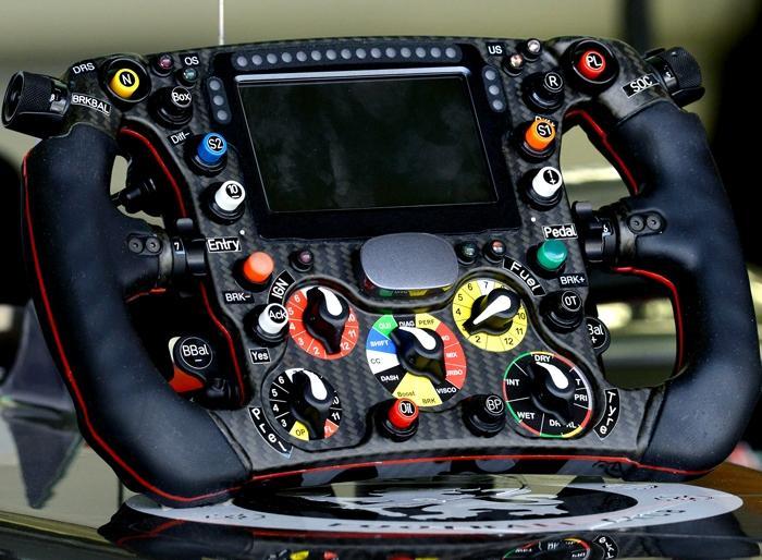 Руль болида Формулы-1 Sauber