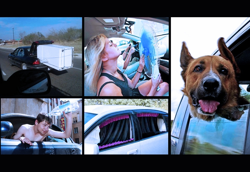 Как выжить в машине без кондиционера! – Автоблог –