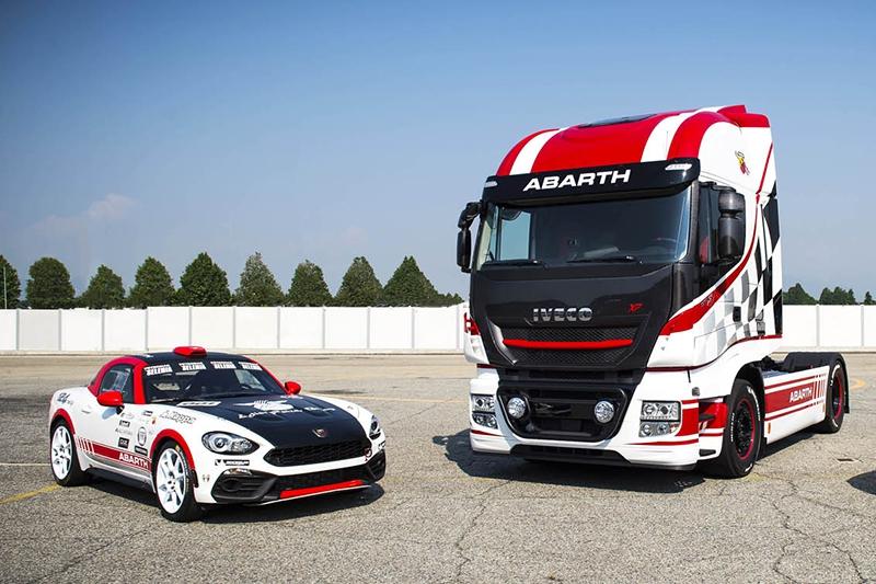 Abarth выпустит 124 особых «спортивных» фургона