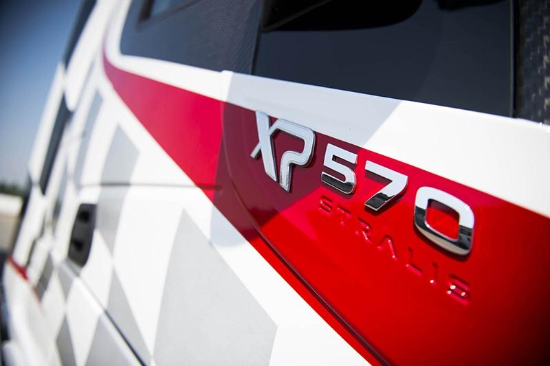 Компания Abarth создала особенные «спортивные» грузовые автомобили