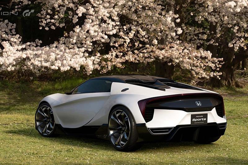 Honda показала виртуальный спорткар для игры Gran Turismo