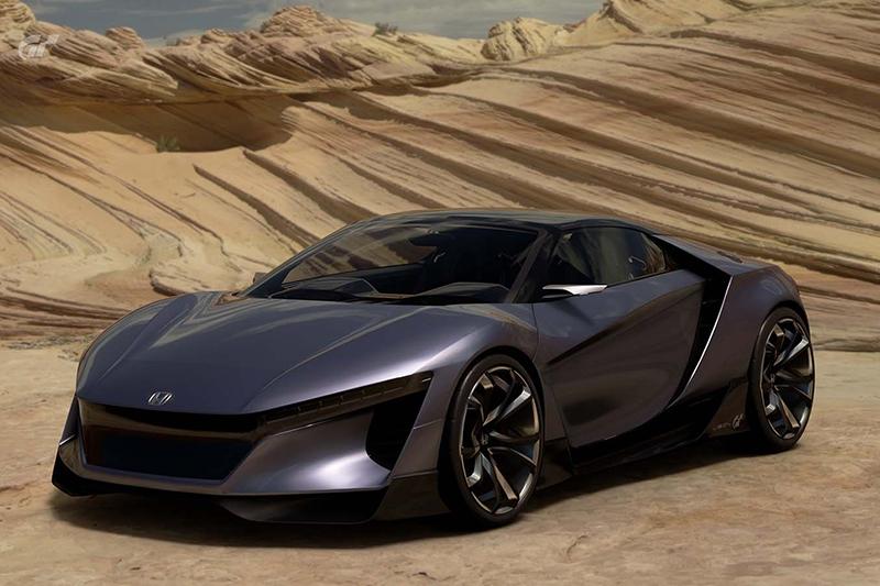 Хонда представила виртуальный спорткар для игры Gran Turismo